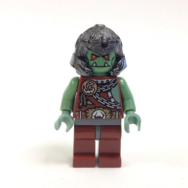 LEGO Minifigure-Fantasy Era - Troll Warrior 3 (Orc)-Castle / Fantasy Era-CAS368-Creative Brick Builders