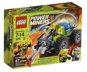 LEGO Set-Fire Blaster-Power Miners-8188-1-Creative Brick Builders