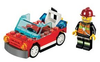 LEGO Set-Fire Car (Polybag)-Town / City / Fire-30221-1-Creative Brick Builders