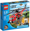 LEGO Set-Fire Helicopter-Town / City / Fire-60010-1-Creative Brick Builders