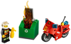 LEGO Set-Fire Motorcycle-Town / City / Fire-60000-4-Creative Brick Builders