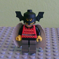 LEGO Minifigure-Fright Knights - Bat Lord with Cape-Castle / Fright Knights-CAS022-Creative Brick Builders