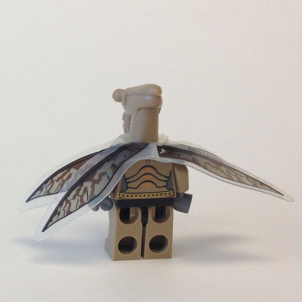 LEGO Minifigure-Geonosian Warrior with Wings-Star Wars / Star Wars Clone Wars-Creative Brick Builders