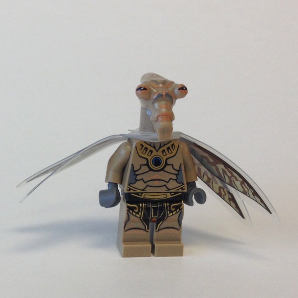 LEGO Minifigure -- Geonosian Warrior with Wings-Star Wars / Star Wars Clone Wars -- SW0381 -- Creative Brick Builders