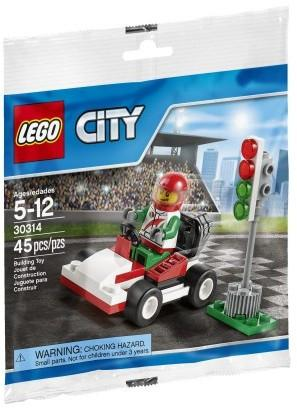 LEGO Set-Go-Kart Racer (Polybag)-Town / City / Race-30314-1-Creative Brick Builders