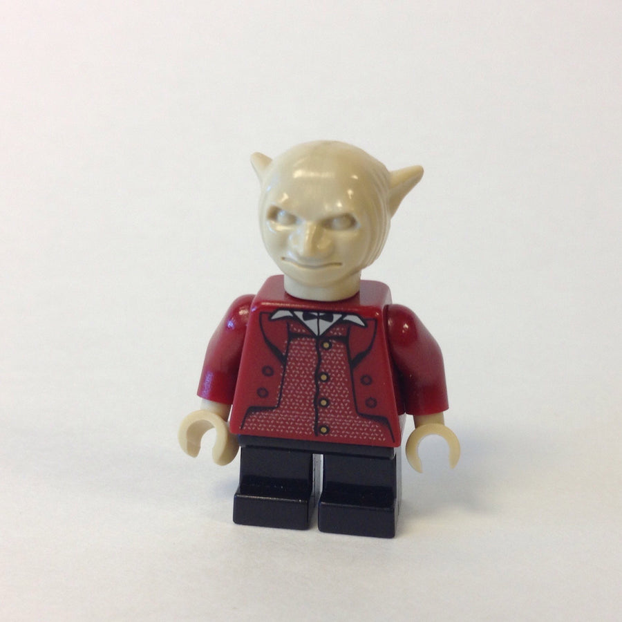 LEGO Minifigure-Goblin, Dark Red Torso-Harry Potter / Sorcerer's Stone-HP079-Creative Brick Builders