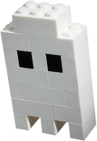 LEGO Set-Halloween Ghost (Polybag)-Holiday / Halloween-40013-1-Creative Brick Builders
