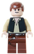 LEGO Minifigure -- Han Solo (Black Vest, Light Flesh)-Star Wars / Star Wars Episode 4/5/6 -- SW0179 -- Creative Brick Builders