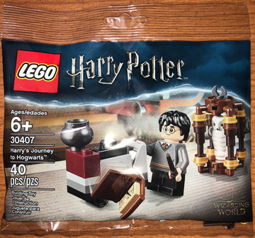 LEGO Set-Harry's Journey to Hogwarts (Polybag)-Harry Potter-30407-1-Creative Brick Builders
