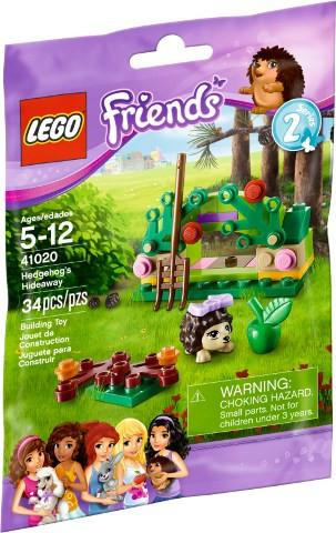 LEGO Set-Hedgehog's Hideaway (Polybag)-Friends-41020-1-Creative Brick Builders