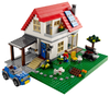 LEGO Set-Hillside House-Creator / Model / Building-5771-1-Creative Brick Builders