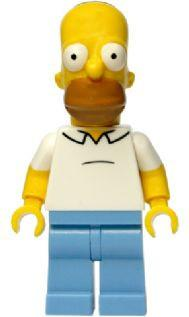 LEGO Minifigure-Homer Simpson-Collectible Minifigures / The Simpsons-SIM007-Creative Brick Builders