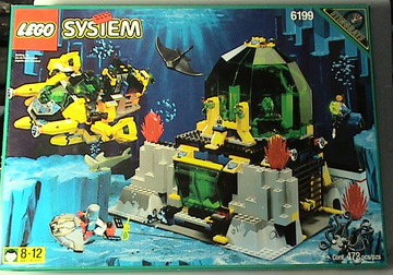 LEGO Set-Hydro Crystalization Station-Aquazone / Hydronauts-6199-4-Creative Brick Builders