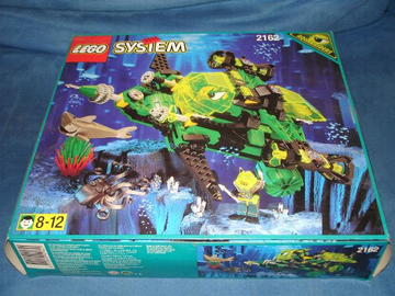 LEGO Set-Hydro Search Sub-Aquazone / Hydronauts-6180-1-Creative Brick Builders