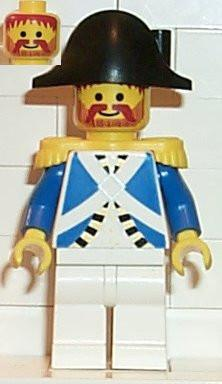 LEGO Minifigure-Imperial Soldier - Harbor Sentry-Pirates / Pirates I / Imperial Soldiers-PI064-Creative Brick Builders