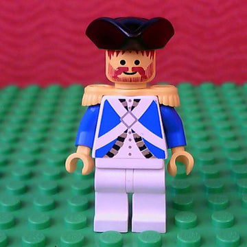LEGO Minifigure-Imperial Soldier - Officer-Pirates / Pirates I / Imperial Soldiers-PI063-Creative Brick Builders