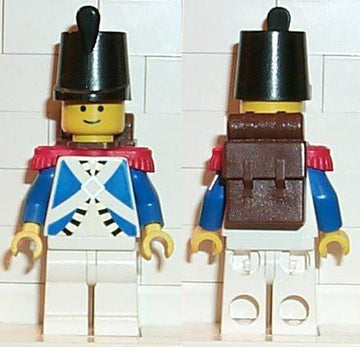 LEGO Minifigure-Imperial Soldier-Pirates / Pirates I / Imperial Soldiers-PI061-Creative Brick Builders