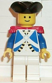 LEGO Minifigure-Imperial Soldier - Sailor-Pirates / Pirates I / Imperial Soldiers-PI060-Creative Brick Builders