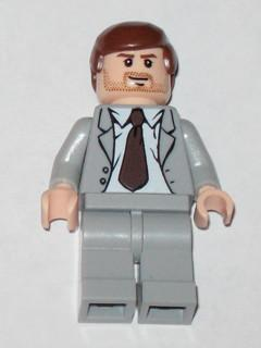 LEGO Minifigure-Indiana Jones - Gray Suit-Indiana Jones / Last Crusade-IAJ039-Creative Brick Builders