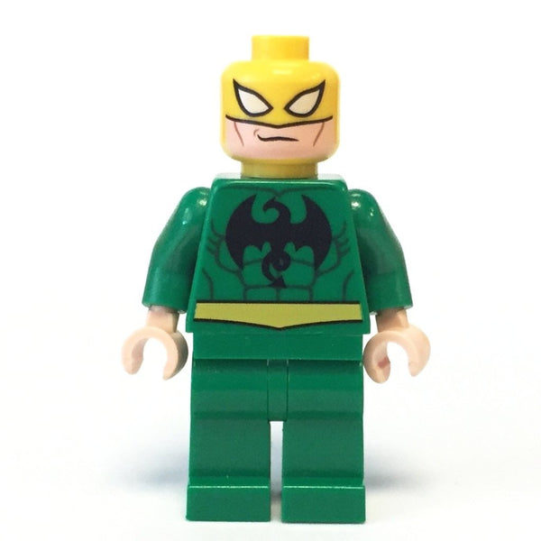 LEGO Minifigure-Iron Fist-Super Heroes / Ultimate Spider Man-SH041-Creative Brick Builders