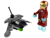 LEGO Set-Iron Man vs. Fighting Drone (Polybag)-Super Heroes / Avengers-30167-1-Creative Brick Builders