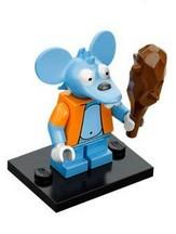 LEGO Minifigure-Itchy-Collectible Minifigures / The Simpsons-COLSIM-13-Creative Brick Builders