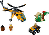 LEGO Set-Jungle Cargo Helicopter-Town / City / Jungle-60158-1-Creative Brick Builders