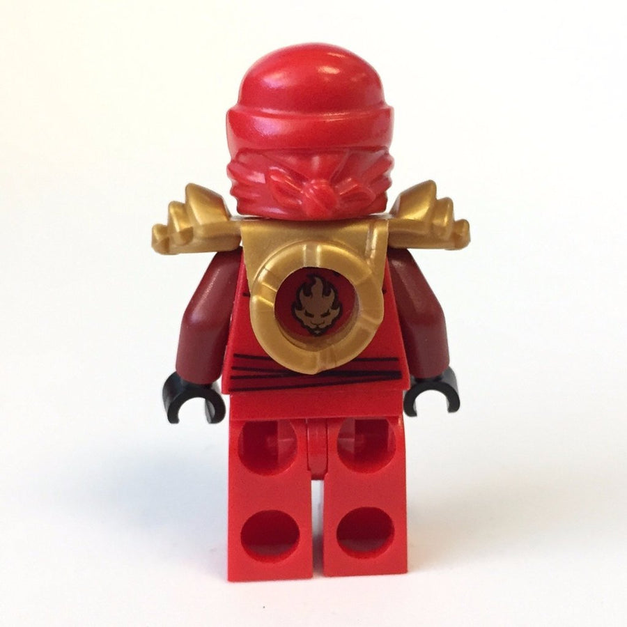 LEGO Minifigure-Kai ZX - with Armor-Ninjago-NJO032-Creative Brick Builders