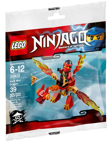 LEGO Set-Kai's Mini Dragon (Polybag)-Ninjago-30422-1-Creative Brick Builders