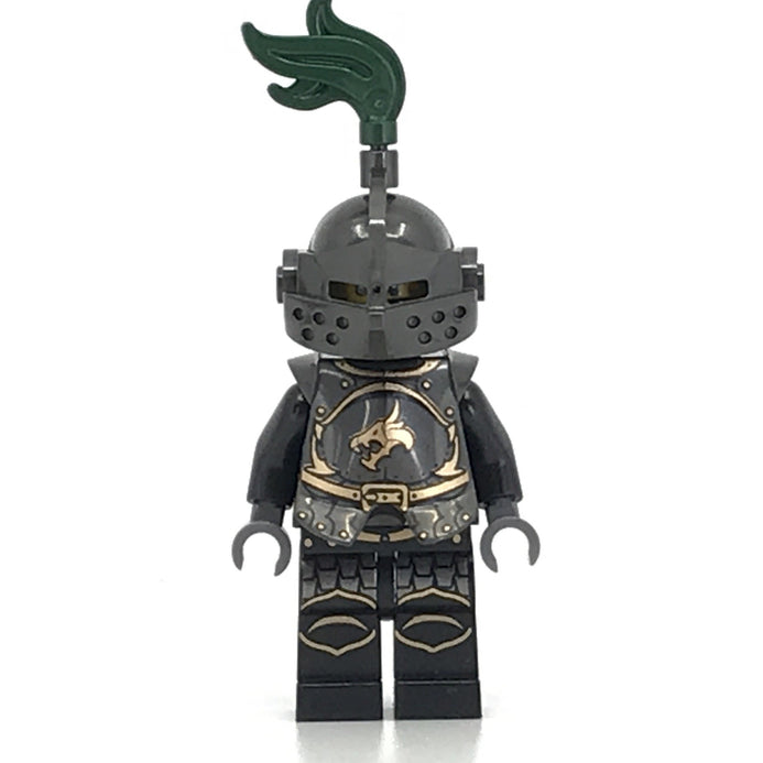 Black and Red Dragon Breastplate x 25 Lego Castle Knights Armor