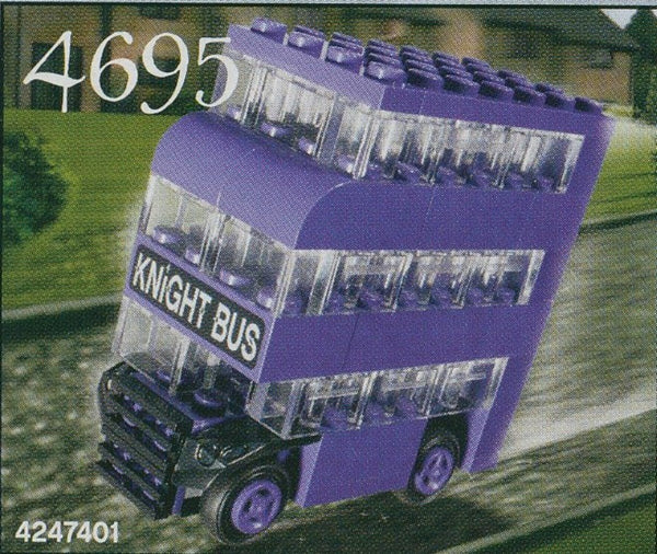 LEGO Set-Knight Bus - Mini-Harry Potter / Prisoner of Azkaban / Mini-4695-1-Creative Brick Builders