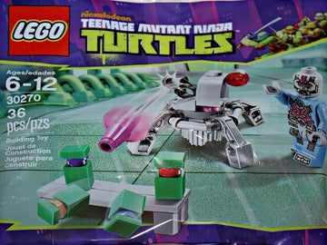 LEGO Set-Kraang Laser Turret (Polybag)-Teenage Mutant Ninja Turtles-30270-1-Creative Brick Builders