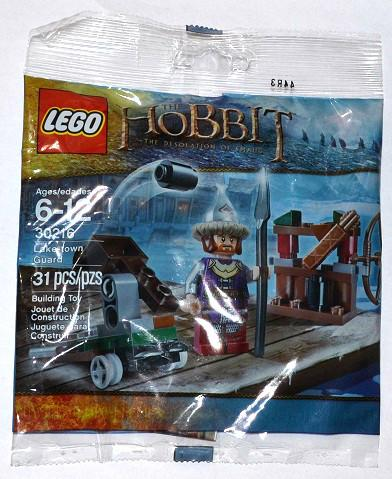 LEGO Set-Lake-town Guard (Polybag)-The Hobbit and the Lord of the Rings / The Hobbit-30216-1-Creative Brick Builders