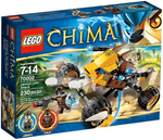 LEGO Set-Lennox' Lion Attack-Legends of Chima-70002-1-Creative Brick Builders