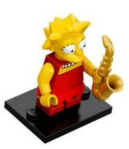 LEGO Minifigure-Lisa Simpson-Collectible Minifigures / The Simpsons-COLSIM-4-Creative Brick Builders