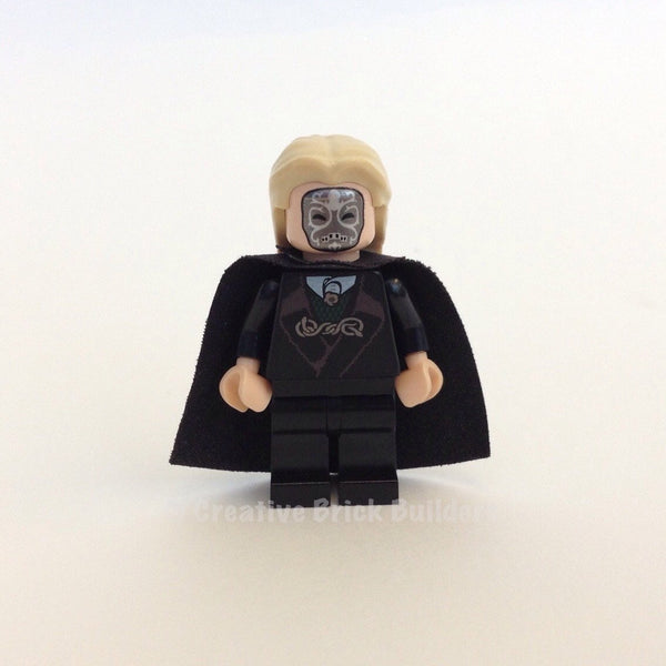LEGO Minifigure-Lucius Malfoy, Light Flesh-Harry Potter-HP104-Creative Brick Builders