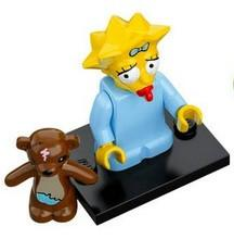 LEGO Minifigure-Maggie Simpson-Collectible Minifigures / The Simpsons-COLSIM-5-Creative Brick Builders