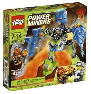 LEGO Set-Magma Mech-Power Miners-8189-1-Creative Brick Builders