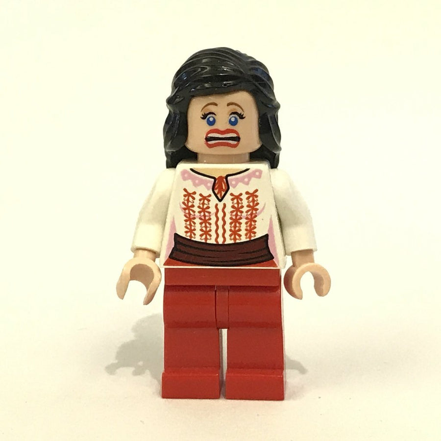 LEGO Minifigure-Marion Ravenwood - Red and White Cairo Outfit (7195)-Indiana Jones / Raiders of the Lost Ark-IAJ036-Creative Brick Builders