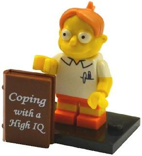 LEGO Minifigure-Martin Prince-Collectible Minifigures / The Simpsons Series 2-COLSIM2-8-Creative Brick Builders