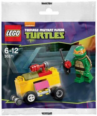 LEGO Set-Mikey's Mini-Shellraiser (Polybag)-Teenage Mutant Ninja Turtles-30271-1-Creative Brick Builders