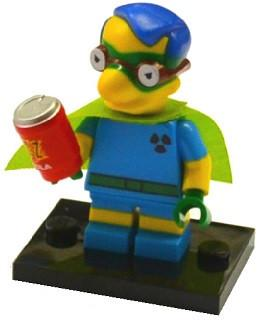 LEGO Minifigure-Milhouse as Fallout Boy-Collectible Minifigures / The Simpsons Series 2-COLSIM2-6-Creative Brick Builders