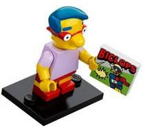 LEGO Minifigure-Milhouse Van Houten-Collectible Minifigures / The Simpsons-COLSIM-9-Creative Brick Builders