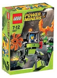 LEGO Set-Mine Mech-Power Miners-8957-1-Creative Brick Builders