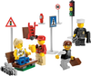 LEGO Set-Minifigure Collection-Town / City / Supplemental-8401-4-Creative Brick Builders