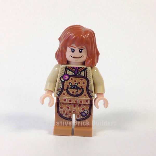 LEGO Minifigure-Molly Weasley-Harry Potter-HP088-Creative Brick Builders