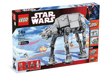 LEGO Set-Motorized Walking AT-AT-Star Wars / Star Wars Episode 4/5/6-10178-1-Creative Brick Builders
