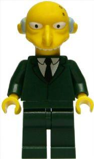 LEGO Minifigure-Mr. Burns-Collectible Minifigures / The Simpsons-SIM022-Creative Brick Builders