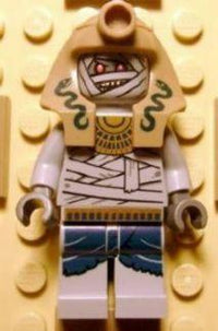 LEGO Minifigure-Mummy Warrior 2-Pharaoh's Quest-PHA011-Creative Brick Builders