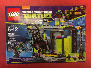 LEGO Set-Mutation Chamber Unleashed-Teenage Mutant Ninja Turtles-79119-1-Creative Brick Builders